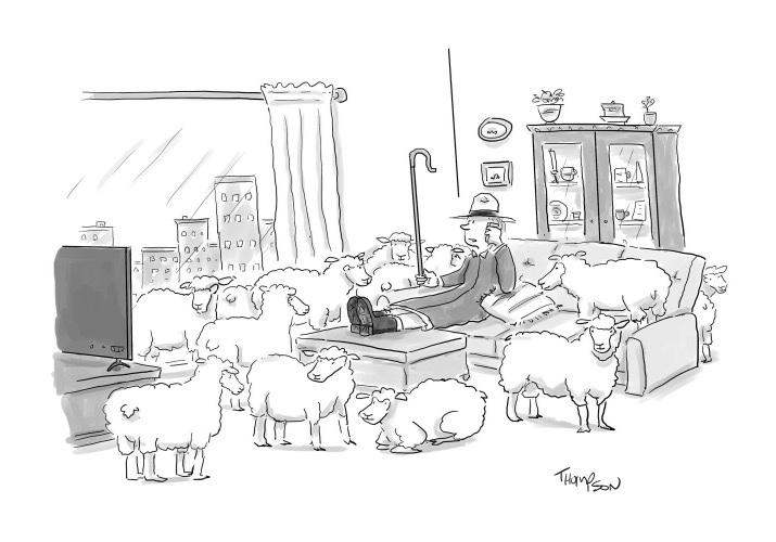 Attempted Bloggery: My Entry in The New Yorker Cartoon Caption Contest