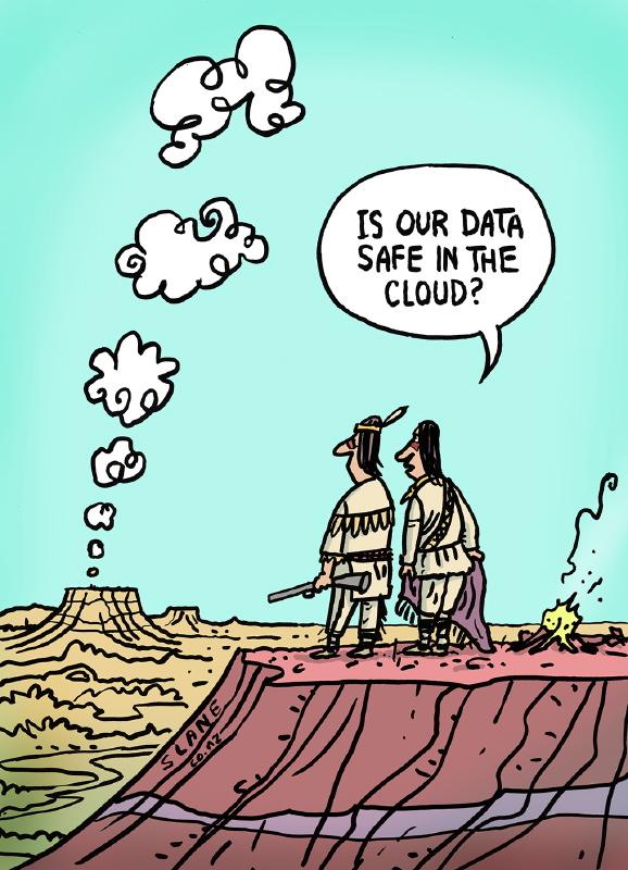 Privacy Cartoons By Chris Slane